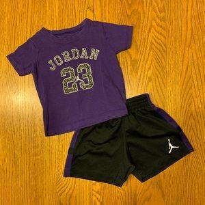 Nike Toddler Short Set